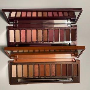 Urban Decay Heat & Cherry Eyeshadow Palette Bundle
